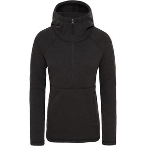 The North Face Crescent Hoody Damen tnf black heather tnf black heather
