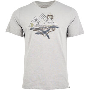 United By Blue High Gear SS Graphic T-Shirt Herren boulder grey boulder grey