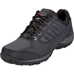 Columbia Ruckel Ridge WP Shoes Herren black/rusty black/rusty