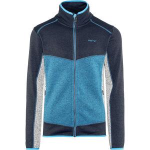 Meru Lerum Knitted Fleece Jacket Herren seaport melange seaport melange
