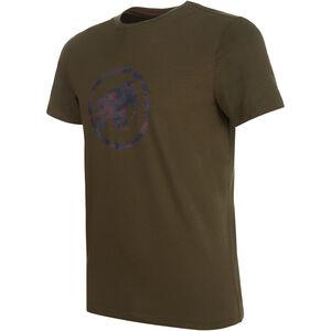 Mammut Logo T-Shirt Herren iguana PRT1 iguana PRT1