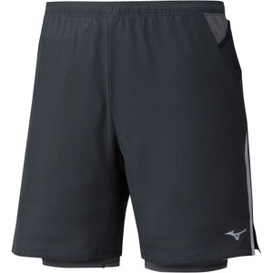 Mizuno Er 7.5 2In1 Shorts Herren black black