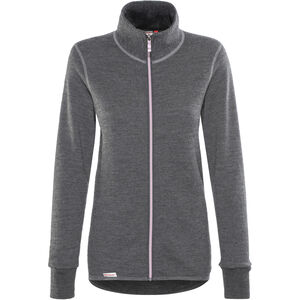 Woolpower 400 Colour Collection Full-Zip Jacket grey/rose grey/rose