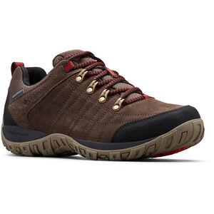 Columbia Peakfreak Venture S II WP Schuhe Herren cordovan/fiery red cordovan/fiery red