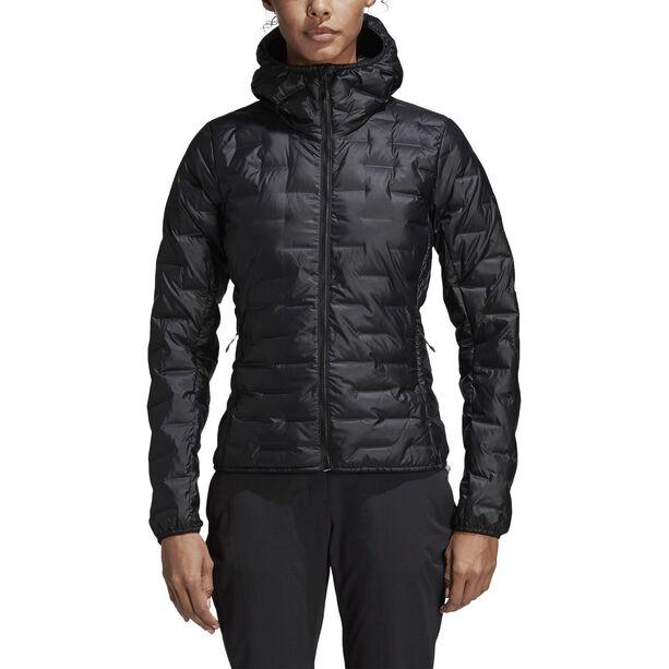 adidas TERREX Light Kapuzen-Daunenjacke Damen black