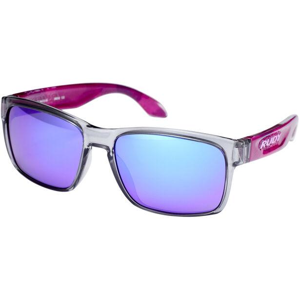 Rudy Project Spinhawk Slim Glasses neo camo crystal wine - rp optics multilaser violet