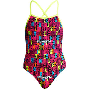 Funkita Strapped In One Piece Swimsuit Mädchen code breaker code breaker