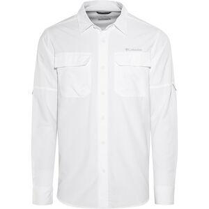 Columbia Silver Ridge II Longsleeve Shirt Herren white white