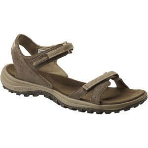 Columbia Santiam Sandals Damen mud/sandy tan mud/sandy tan