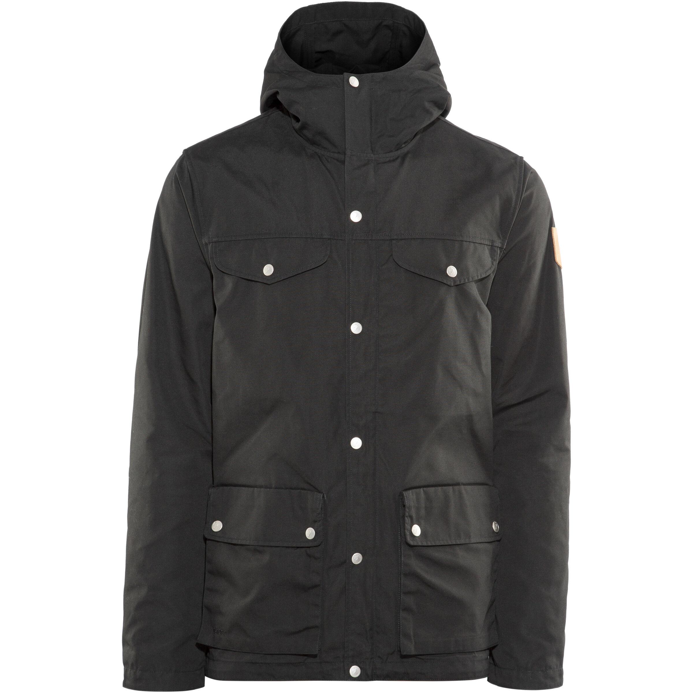 Jacket Fjällräven Greenland Herren Black Fjällräven fgy7Yb6