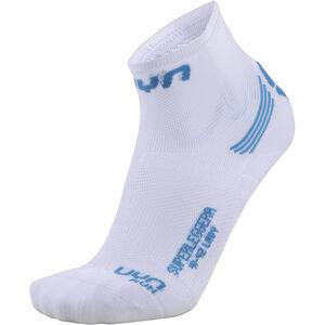 UYN Run Superleggera Socks Damen white/turquoise white/turquoise