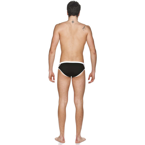 arena Team Stripe Brief Herren black-white