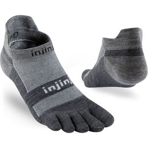 Injinji Run NuWool Lightweight Sneakersocken Herren charcoal charcoal