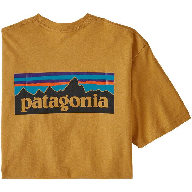 Patagonia P-6 Logo Responsibili-Tee Herren glyph gold