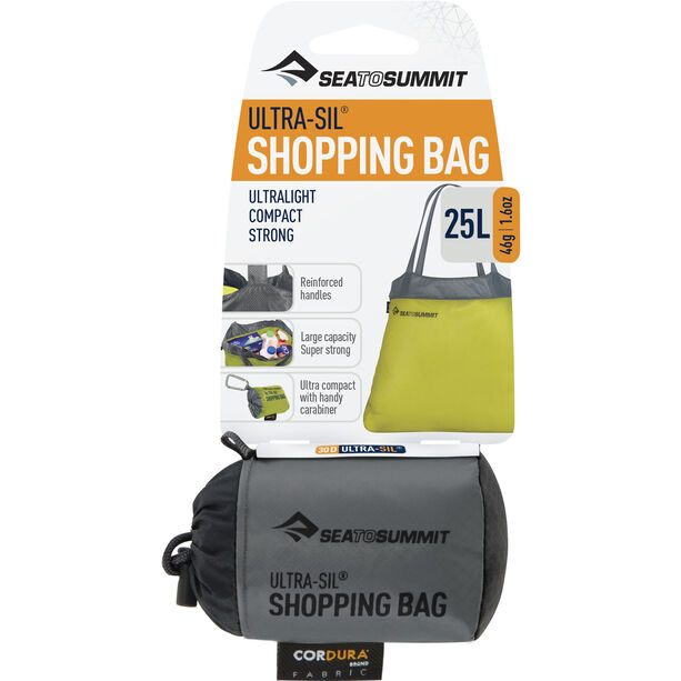 Sea to Summit Ultra-Sil Shopping Bag black