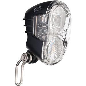 Axa Echo 15 Scheinwerfer für Nabendynamo mit Halter und Kabel