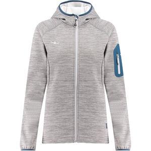 Kaikkialla Tanja Fleece Jacket Damen grey melange grey melange