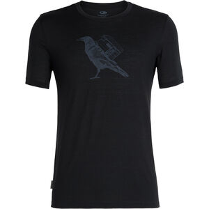 Icebreaker Tech Lite SS Rundhalsshirt Herren ravencamp/black ravencamp/black