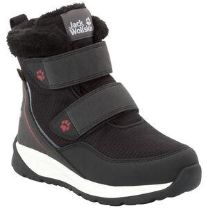 Jack Wolfskin Polar Wolf Texapore VC Mid-Cut Schuhe Kinder black/white black/white