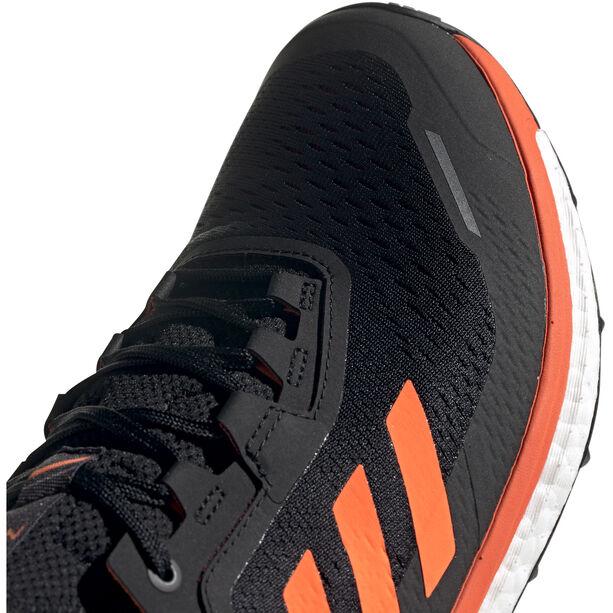 adidas TERREX Agravic Flow Low-Cut Schuhe Herren collegiate burgundy/solar orange/core black