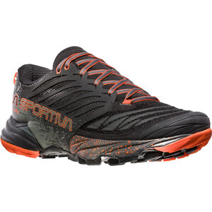 La Sportiva Akasha Running Shoes Herren black/tangerine black/tangerine