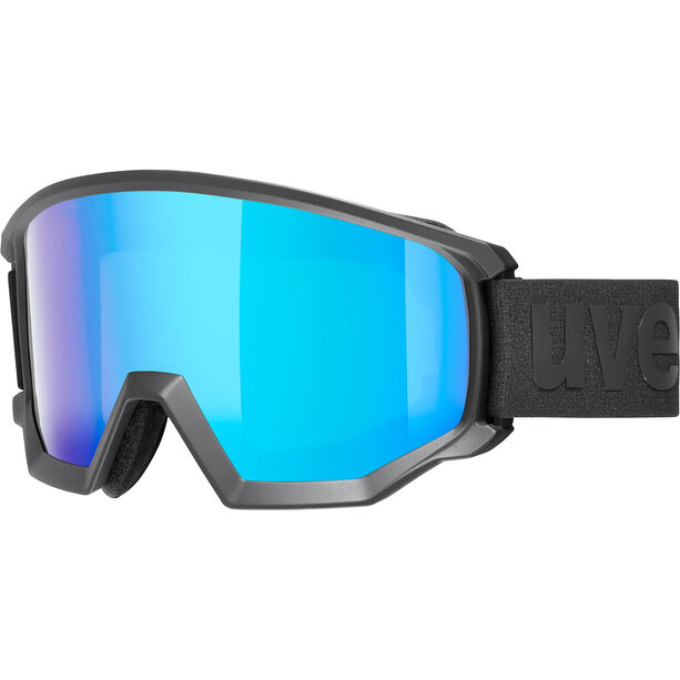 UVEX Athletic CV Goggles black mat/colorvision blue fire