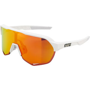 100% S2 Hiper Mirror Glasses matte off white matte off white