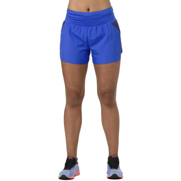 "asics 3,5"" Shorts Damen illusion blue"
