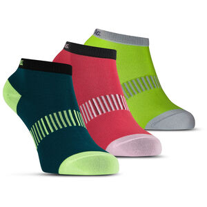 Salming Performance Ankle Socks 3 Pack teal/yellow/red teal/yellow/red