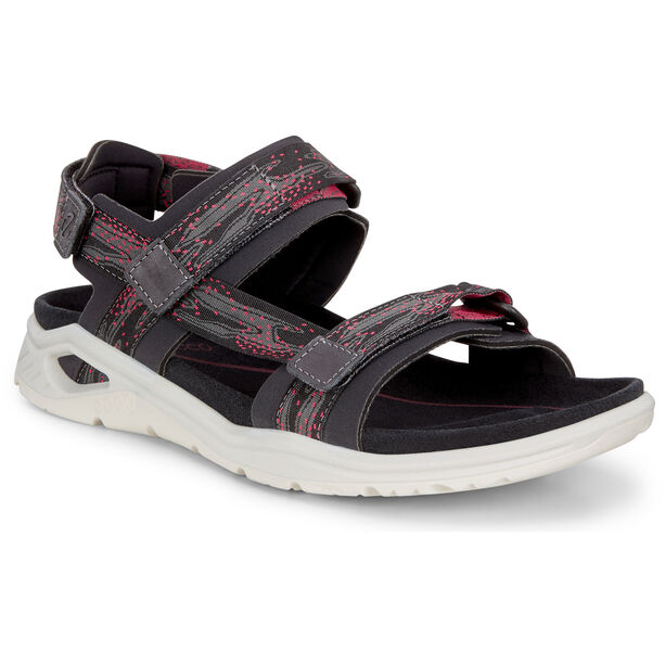 ECCO X-Trinsic Sandals Damen black/teaberry