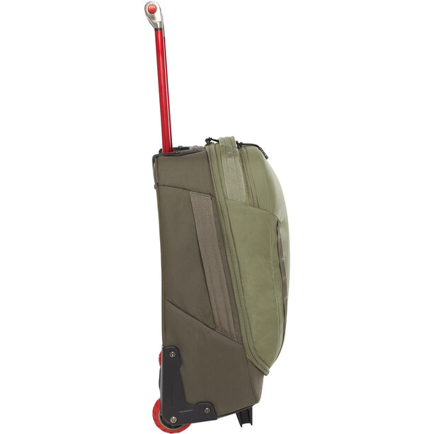"""The North Face Overhead 19"""" Travel Bag new taupe green/four leaf clover"""