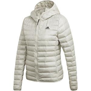 adidas TERREX Varilite Kapuzen-Daunenjacke Damen raw white raw white
