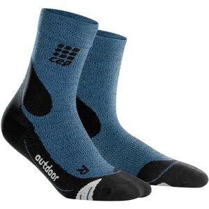 cep Dynamic+ Outdoor Merino Mid-Cut Socken Herren desert sky/black desert sky/black