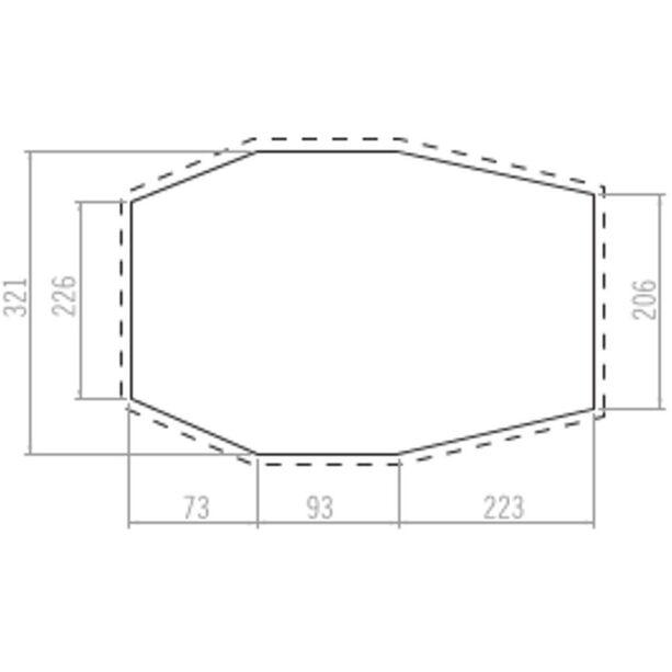 VAUDE Drive Van XT 5P Floor Protector Comfort anthracite