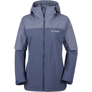 Columbia Evolution Valley II Jacke Damen nocturnal/nocturnal heather nocturnal/nocturnal heather