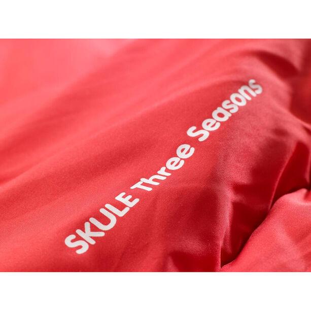 Fjällräven Skule Three Seasons Schlafsack Lang red