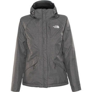 The North Face Inlux Insulated Jacket Damen tnf black heather tnf black heather