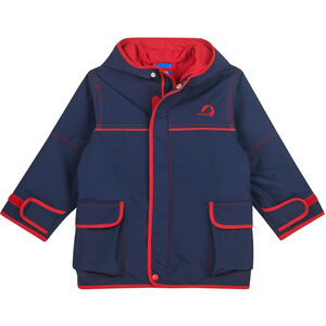 Finkid Tuulis Outdoor Parka Kinder navy/red navy/red