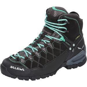 SALEWA Alp Trainer Mid GTX Hiking Shoes Damen black out/agata black out/agata