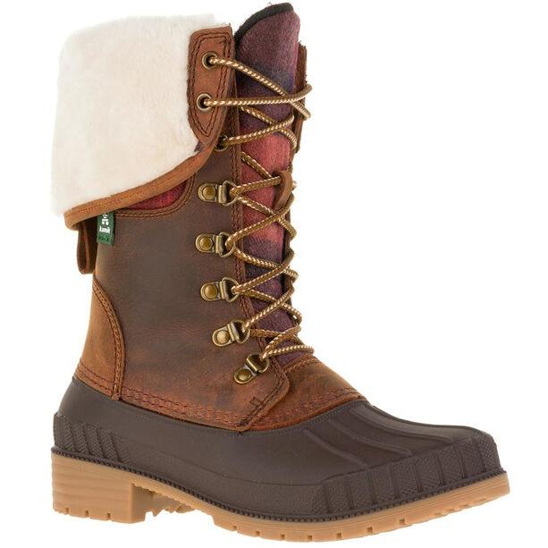 Kamik Siennaf2 Shoes Damen dark brown-brun fonce