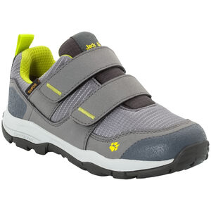 Jack Wolfskin MNT Attack 3 Texapore VC Low Schuhe Kinder grey/lime grey/lime