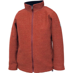 Ivanhoe of Sweden Rulle Full Zip Jacke Kinder red clay red clay