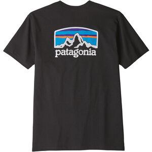 Patagonia Fitz Roy Horizons Responsibili-Tee Herren black black