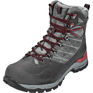 The North Face Hedgehog Trek GTX Shoes Herren dark shadow grey/rudy red dark shadow grey/rudy red