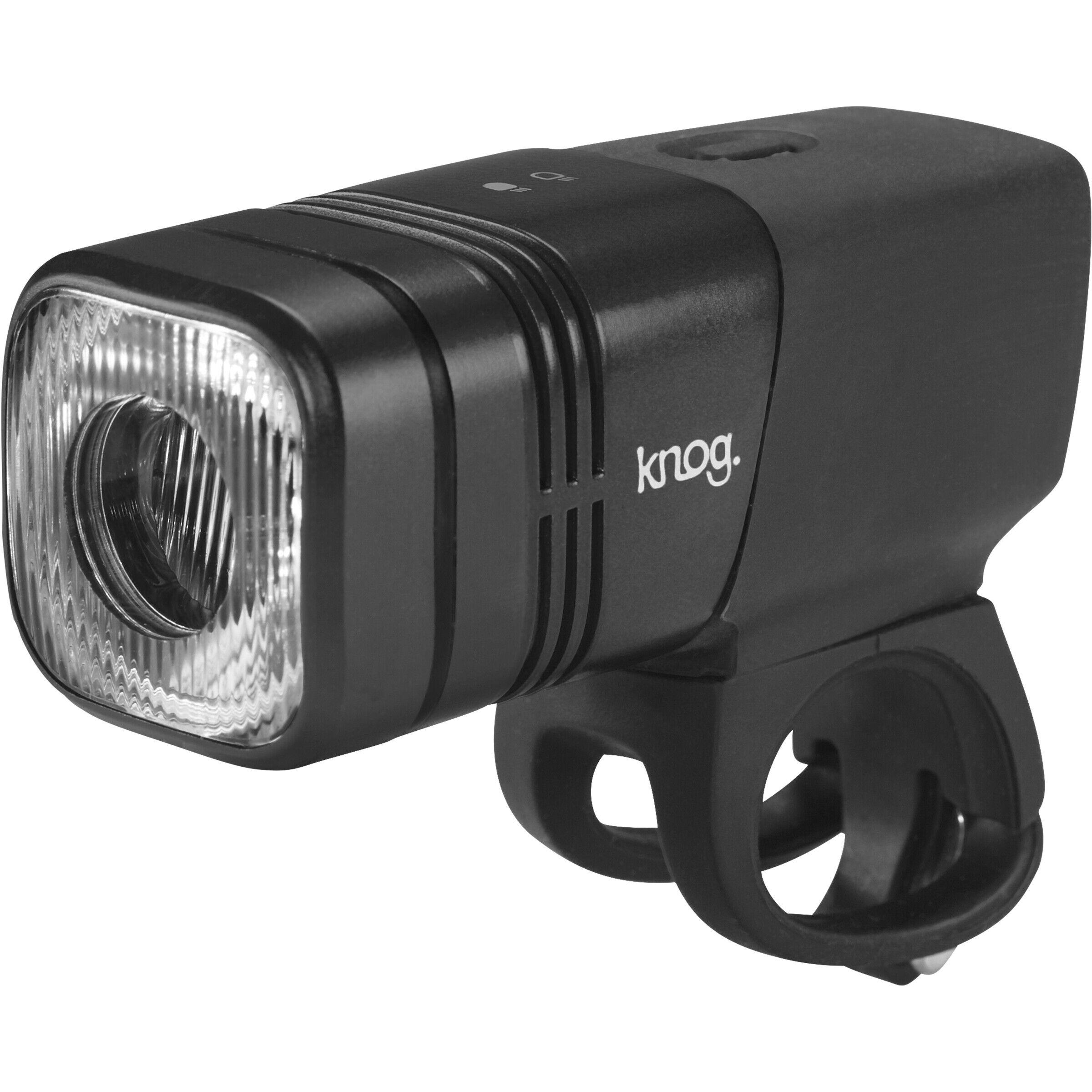 Knog Blinder MOB Frontlicht StVZO weiße LED black 2019 Fahrradbeleuchtung