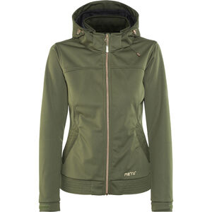 Meru Falun Softshell Jacket Damen forest night forest night