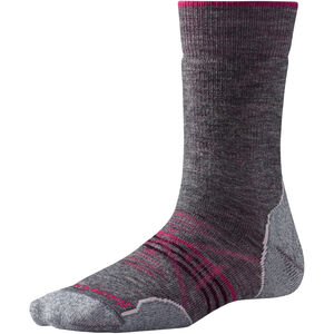 Smartwool PhD Outdoor Medium Crew Socks Damen medium gray medium gray