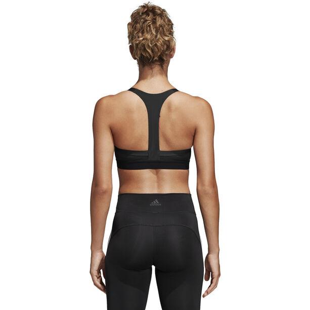 adidas All Me 3-Stripes Sport BH Damen black