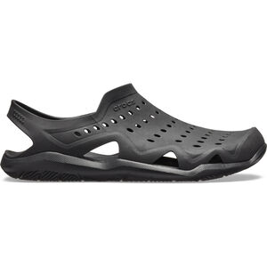 Crocs Swiftwater Wave Slippers Herren black/black black/black