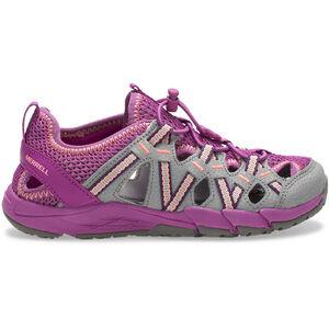 Merrell M-Hydro Choprock Shandal Sandals Kinder grey/purple grey/purple